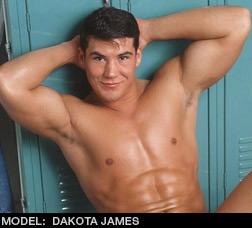 Print model turned gay porn star, Dakota James aka: Bryson Richards