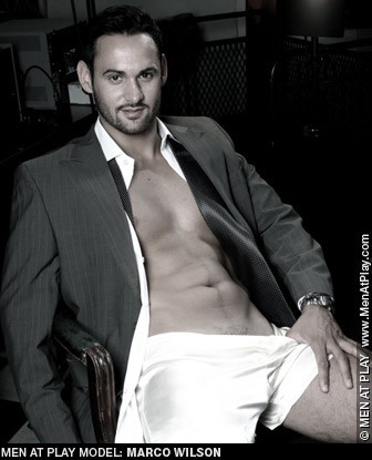 Marco Wilson Men At Play British gay porn star