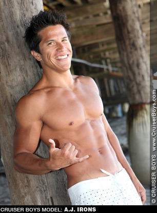 A.J. Irons - Latino Gay Porn performer A.J. Irons