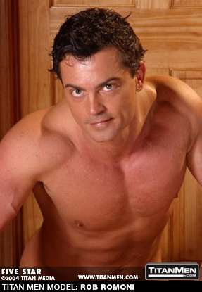 Rob Romoni - Buff American Gay Porn performer