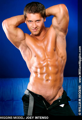 Joey Intenso - Slovakian Muscle and Gay Porn Performer