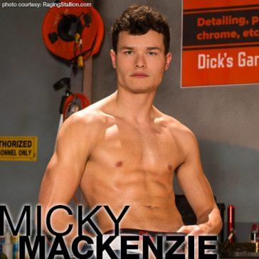 MICKY MacKENZIE