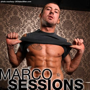 Marco Sessions | Ripped Hungarian Power Bottom Gay Porn Star