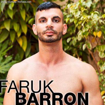 Faruk Barron Arabic European Gay Porn Star