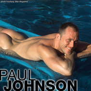 Paul Johnson Handsome American Gay Porn Star 100686 gayporn star