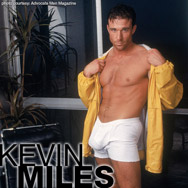 Kevin Miles Handsome Hung Classic American Gay Porn Star 100867 gayporn star