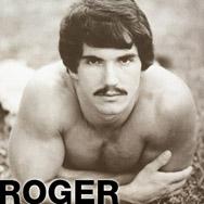 Roger Gay Porn Superstar Blueboy Magazine Model & Hung Hustler 101066 gayporn star