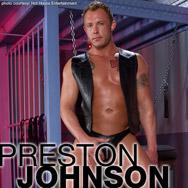 Gay Porn Star gayporn star Preston Johnson