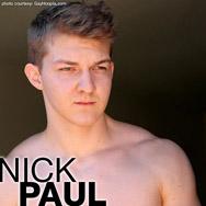 Nick Paul Hung Uncut American College Jock Gay Porn GayHoopla Gay Porn 134424 gayporn star