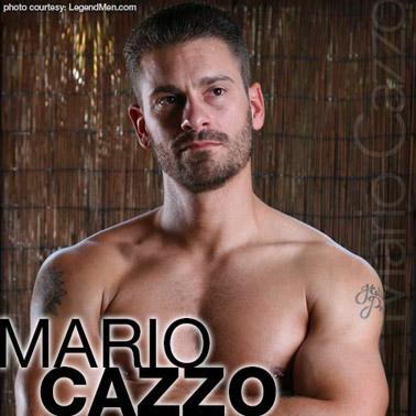 Mario Cazzo American Gay Porn Star 112078 gayporn star Ron Lloyd LegendMen Body Image Productions Model Performer