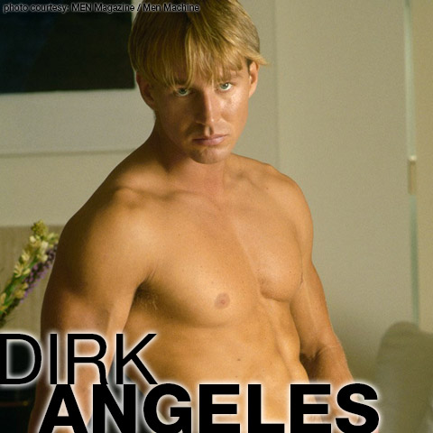 Dirk Angeles Swedish Uncut Athletic Hunk and Solo Performer 100135 gayporn star
