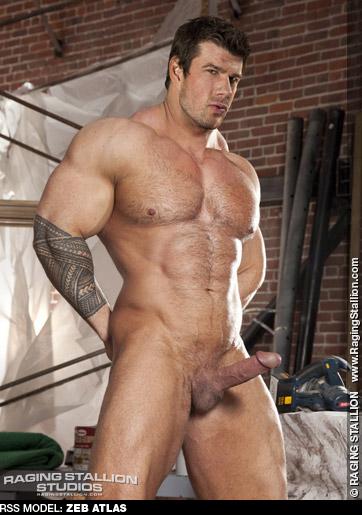 Zeb Atlas - Gay Porn Muscle Performer Escort Superstar