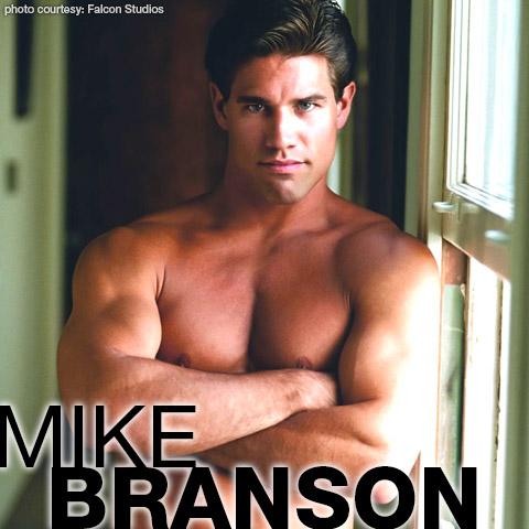 Mike Branson Falcon Studios Handsome Muscle American Gay Porn Star Gay Porn 100243 gayporn star