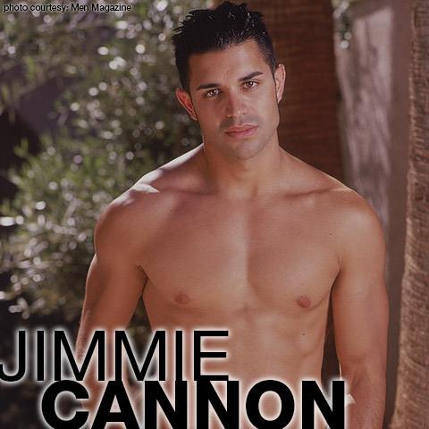 Jimmie Cannon Luca Playgirl Men Magazine Model