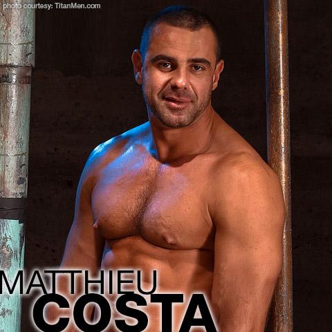 Matthieu Costa Handsome Uncut Beefcake Gay Porn Star Gay Porn 100359 gayporn star Gay Porn Performer