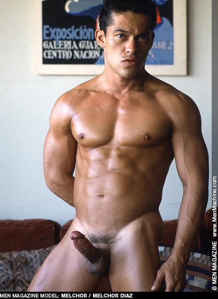 Melchor Diaz Handsome Uncut Latino Muscle Gay Porn Star Gay Porn 100446 gayporn star