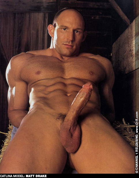 Matt Drake Handsome Hunk of American Muscle Solo Jack Off Guy Gay Porn 100470 gayporn star