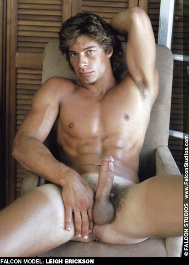 Leigh Erickson Handsome Classic American Gay Porn Star