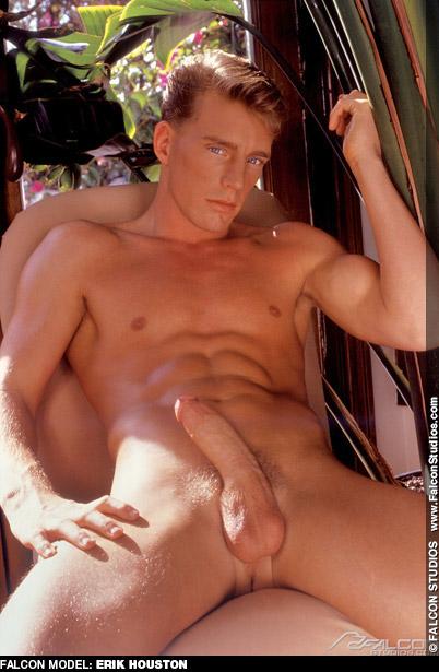 Erik Houston Handsome Falcon Studios American Gay Porn Star and Advocate Men model Gay Porn 100645 gayporn star