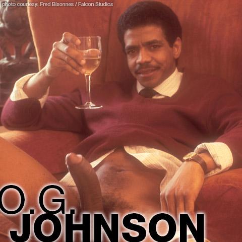 O.G. Johnson Black Hung Handsome Falcon Studios American Gay Porn Star Gay Porn 100685 gayporn star