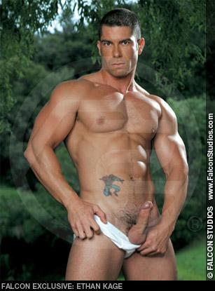 Ethan Kage Hunk Falcon Studios American Gay Porn Star Gay Porn 100695 gayporn star