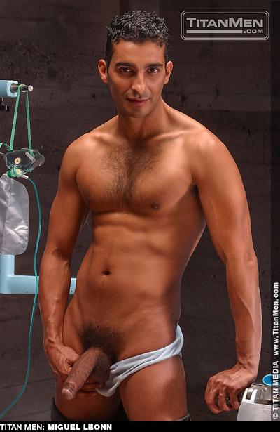 Miguel Leonn Handsome Hung Uncut Latino American Gay Porn Star Gay Porn 100768 gayporn star