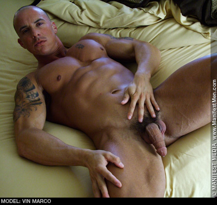 Vin Marco Handsome Muscle Stud American Gay Porn Star