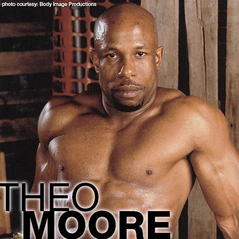Theo Moore Black Hung Uncut Ron Lloyd LegendMen Model & Solo Performer Gay Porn 100886 gayporn star Body Image Productions