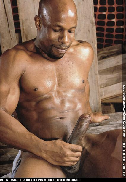 Theo Moore Black Hung Uncut Ron Lloyd LegendMen Model & Solo Performer Gay Porn 100886 gayporn star