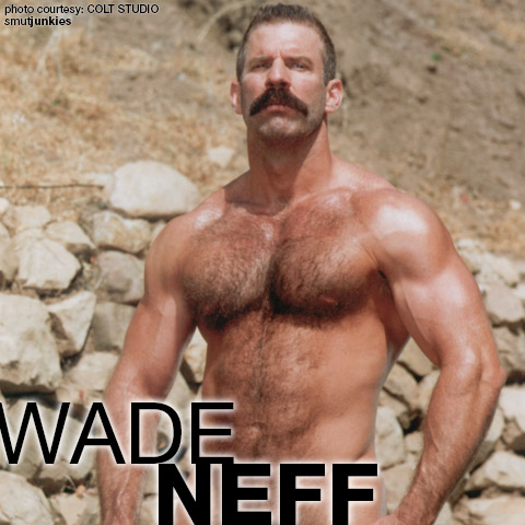 Wade Neff Uncut Hung Handsome Muscle Colt Studio Model Gay Porn 100903 gayporn star