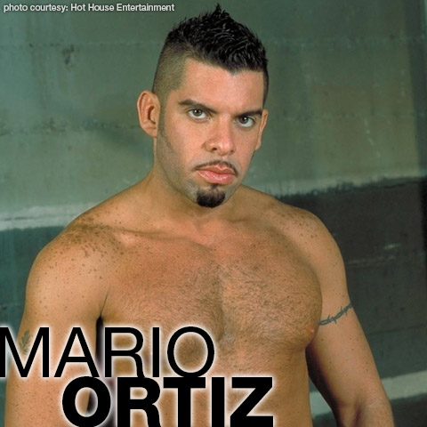 Gay Porn Star gayporn star Mario Ortiz Hunky Latino Gay Porn Star Falcon Studios