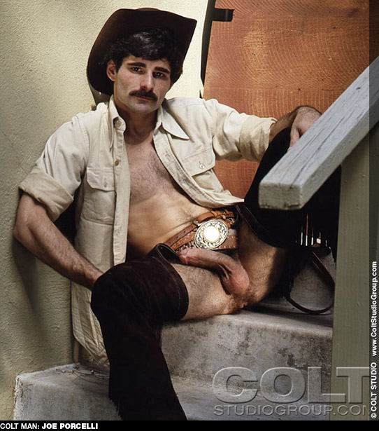Joe Porcelli Colt Studio Model Gay Porn Star Gay Porn 100983 gayporn star