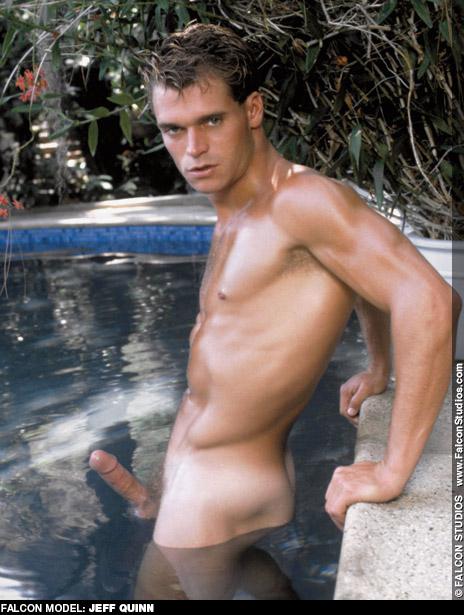 Jeff Quinn Falcon Studios American Gay Porn Star and Playgirl Model Gay Porn 100999 gayporn star