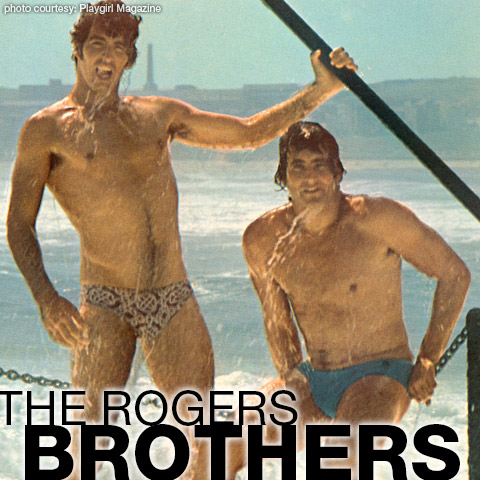 Gregg Rogers & Ron Rogers (The Rogers Brothers) Handsome Classic Playgirl Models and Centerfold Hunks Gay Porn 101063 gayporn star