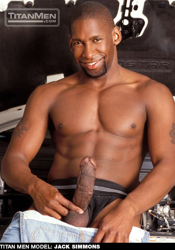 Black Handsome Hung American Gay Porn Star gayporn star