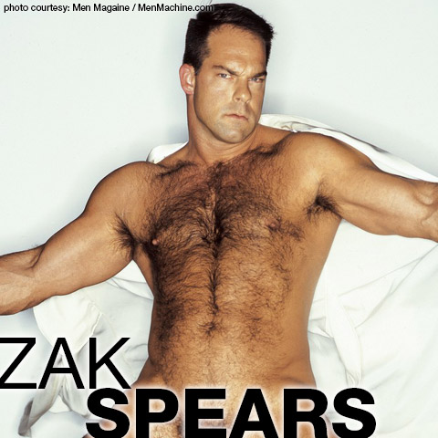 Zak Spears Sexy Daddy Pierced cock Hairy Handsome American Gay Porn SuperStar 101159