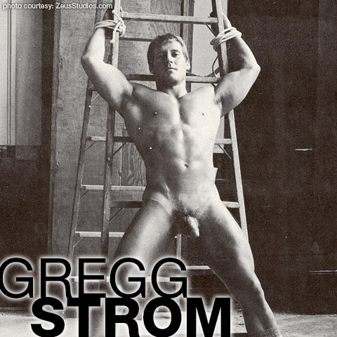 Gregg Strom Greg Stromm Handsome American Muscle Bondage Gay Porn Star