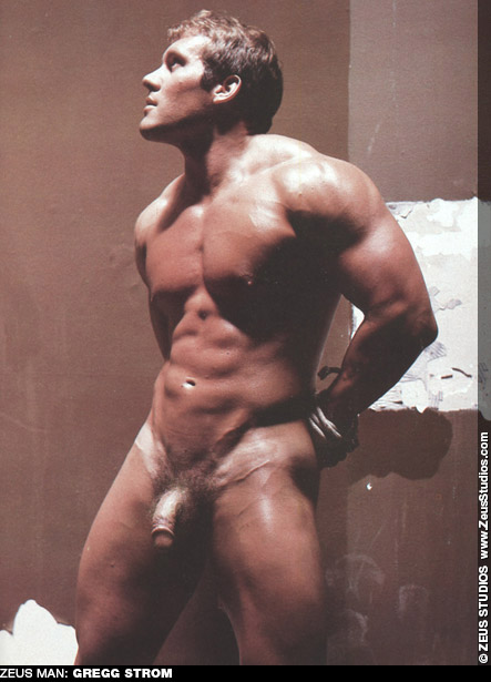 Gregg Strom Handsome American Muscle Bondage Gay Porn Star