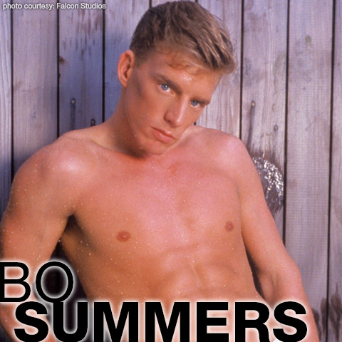 Bo Summers Blond Hung American Gay Porn Star Gay Porn 101211 gayporn star Bo Sommers