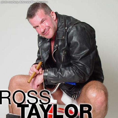 Gay Porn Star gayporn star Ross Taylor Furry Muscle Hunk American Gay Porn Star