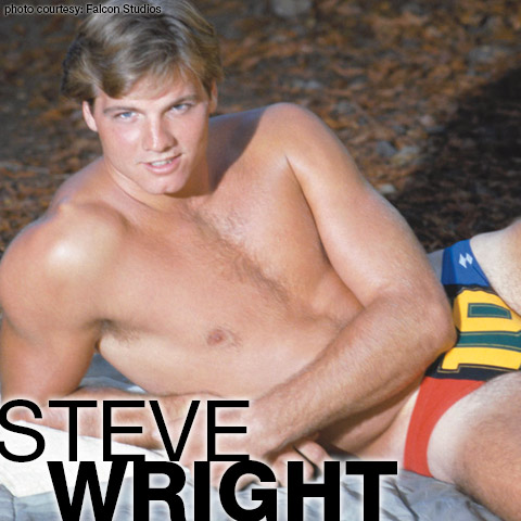 Steve Wright Handsome Classic American Gay Porn Star