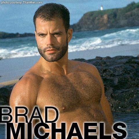 Brad Michaels Handsome Furry American Gay Porn Star Gay Porn 102299 gayporn star