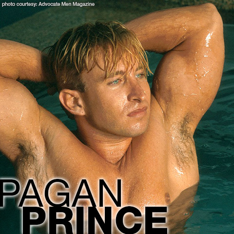 Gay Porn Star gayporn star Pagan Prince Hung Handsome Uncut Gay Porn Star