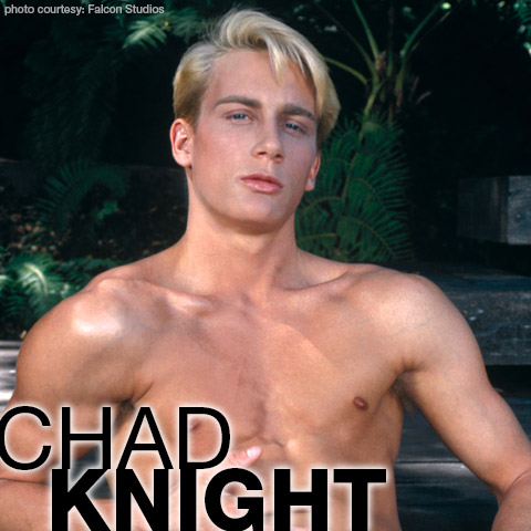 Chad Knight Hung Handsome Blond American Gay Porn Star gayporn star