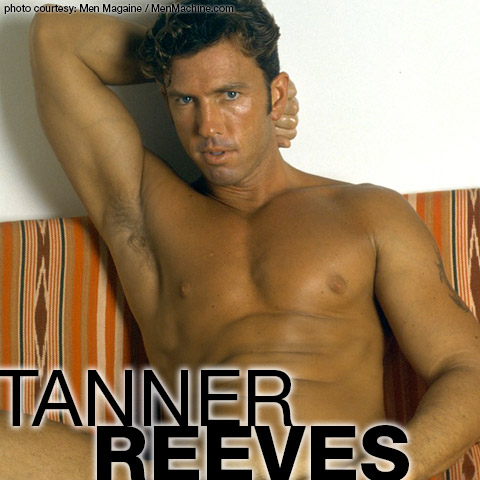 Handsome & Frisky American Gay Porn Star Tanner Reeves