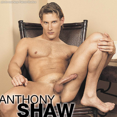 Anthony Shaw Handsome Blond American Gay Porn Star Gay Porn 103137 gayporn star