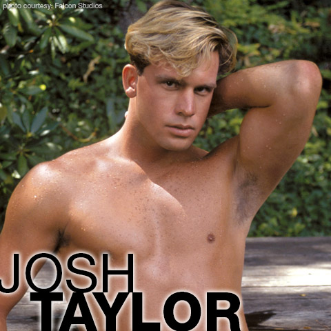 Josh Taylor Handsome Blond American Jock Gay Porn Star Gay Porn 103171 gayporn star