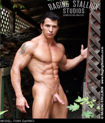 Tony DaVinci Handsome Muscle Hunk Model & Solo Performer