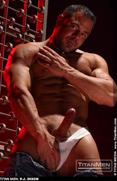 P.J. Dixon Handsome Ripped Muscle Bodybuilder American Gay Porn Star Gay Porn 104789 gayporn star