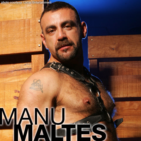 Manu Maltes Handsome Spanish Daddy Gay Porn Star gayporn star